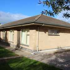Rental info for NEAT & TIDY 2 Bedroom Unit in the Glenelg area