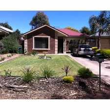 Rental info for Well maintained home with great outlook - Gardening service provided. in the Mount Barker area