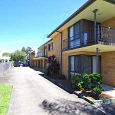 Rental info for Tidy two bedroom unit in the Taree area