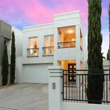 Rental info for Stunning Executive Home is a Entertainers Delight in the Adelaide area