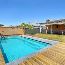 Rental info for Don't miss the opportunity to view this house in North Beach with a pool and powered shed.