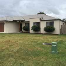 Rental info for PLENTY OF ROOM IN THIS NEAT AND TIDY FOUR BEDROOM HOME in the Brisbane area