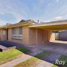 Rental info for A 3 bedroom home with 4 car accommodation