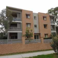 Rental info for 'Spacious Modern Apartment' in the Merrylands area