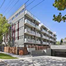 Rental info for GROUND FLOOR APARTMENT WITH COURTYARD in the Melbourne area
