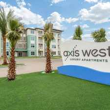 Rental info for Axis West