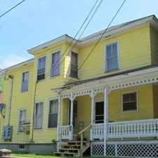 Rental info for 1 bedroom House - 4 spacious rooms include eat in kitchen.