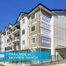 Rental info for Trailside at Skyview Ranch