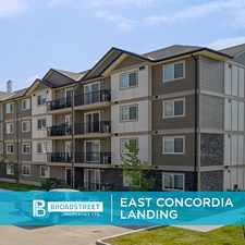 Rental info for East Concordia Landing