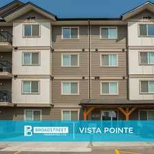 Rental info for Vista Pointe