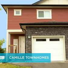 Rental info for Camille Townhomes in the Winnipeg area