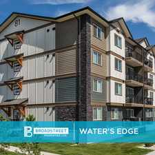 Rental info for Pet Friendly 2 Bedroom 1 Bathroom Apartment with In-suite Laundry for Rent in St. Albert