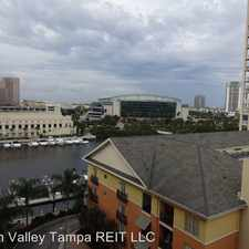 Rental info for 700 S Harbour Island Blvd #736 in the Harbour Island area