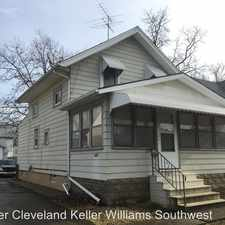 Rental info for 4501 W. 172nd Street in the 44126 area
