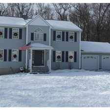 Rental info for Four bedroom Colonial home that is pet friendly. Pet OK!