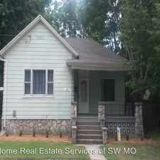 Rental info for 320 E Webster in the Springfield area