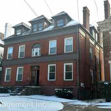 Rental info for 4716 WALLINGFORD STREET #2 in the Pittsburgh area
