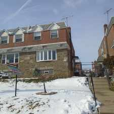 Rental info for 7410 Brous Ave in the Rhawnhurst area