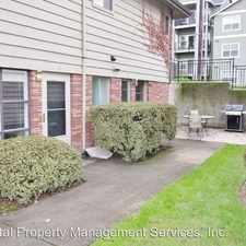 Rental info for 3717 SW Corbett Ave in the Portland area