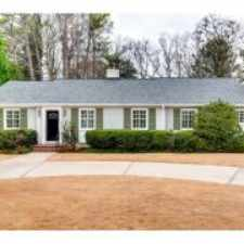 Rental info for Atlanta, GA, Fulton County Rental 3 Bed 3 Baths in the East Chastain Park area