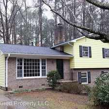 Rental info for 1910 Overland Drive in the Chapel Hill area