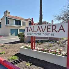Rental info for Talavera