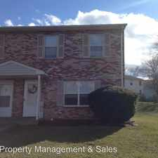 Rental info for 315 Pheasant Run Court
