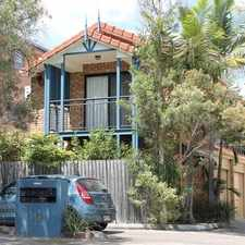 Rental info for TWO LEVEL TOWNHOUSE IN AN EXCELLENT LOCATION in the Brisbane area