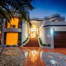 Rental info for LUXURY WATERFRONT MANSION