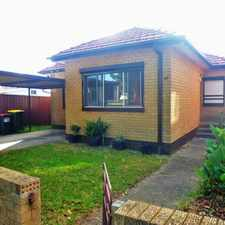 Rental info for LEASED RAY WHITE INNER WEST RENTALS!!! in the Belmore area