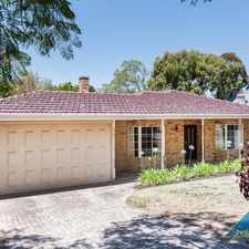 Rental info for Modern & very spacious family home in the heart of Nedlands!