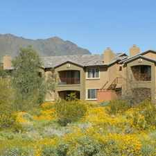 Rental info for 16356 North Thompson Peak Pkwy in the Scottsdale area