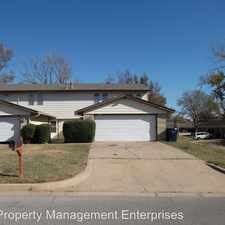 Rental info for 8500 Candlewood Drive in the 73162 area