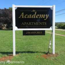 Rental info for 2601 Academy Drive