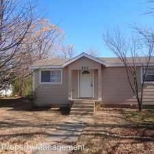 Rental info for 202 N Ruddell Street in the 76209 area