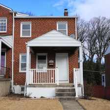Rental info for 1168 Elm Road in the Baltimore area