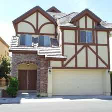 Rental info for 9205 Whitekirk Pl. in the 89145 area