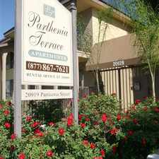 Rental info for Parthenia Terrace Apartments in the Los Angeles area