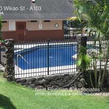 Rental info for 95-510 Wikao St Nice Cool Tropical Valley Condo!