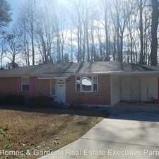 Rental info for 3418 Crane Ferry Road in the Evans area