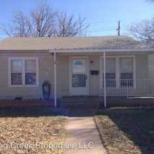 Rental info for 3009 30th Street in the Lubbock area
