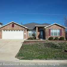 Rental info for 703 Black Hills Trail in the Harker Heights area