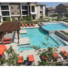 Rental info for Loretto at Creekside in the San Antonio area
