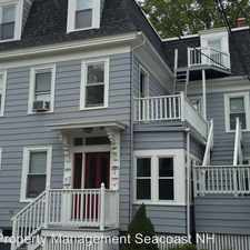 Rental info for 885 State Street Unit 2 in the Portsmouth area