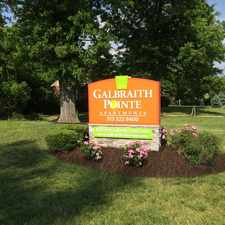 Rental info for Galbraith Pointe Apartments in the Cincinnati area