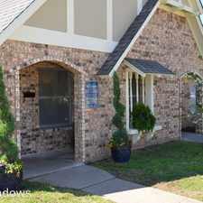 Rental info for 1501 Meadow Trace Drive #1