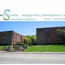 Rental info for Normandy Apartments 5520 Fifth Avenue - Apt 4C in the Squirrel Hill North area