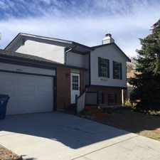 Rental info for Beautiful home in great area with desirable Cherry Creek Schools. in the Carriage Place area