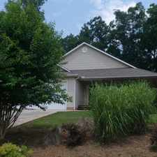 Rental info for Demorest - in a great area.