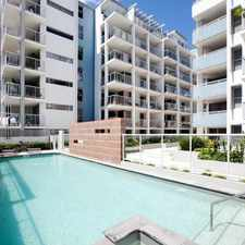 Rental info for NEAR NEW 2 BEDROOM APARTMENT IN SOHO in the Brisbane City area